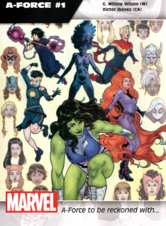A-Force promo
